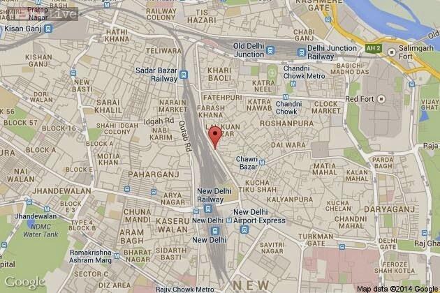 Gb Road Map Delhi Guide: G B Road