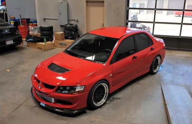 Modifikasi Mobil Mitsubishi Lancer evo 3