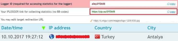 IP Logger kullanarak dakikalar içinde birçok kişinin ip adresini öğrenebilirsiniz.