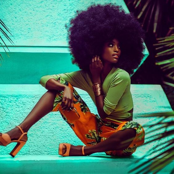 Afro Funk The Inspired Fashion Naturally Beautiful Hair Bloglovin