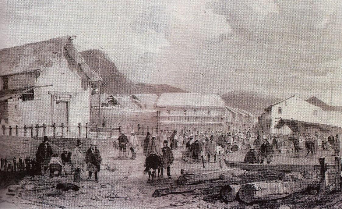 Perú, siglo XIX: Paita 1836