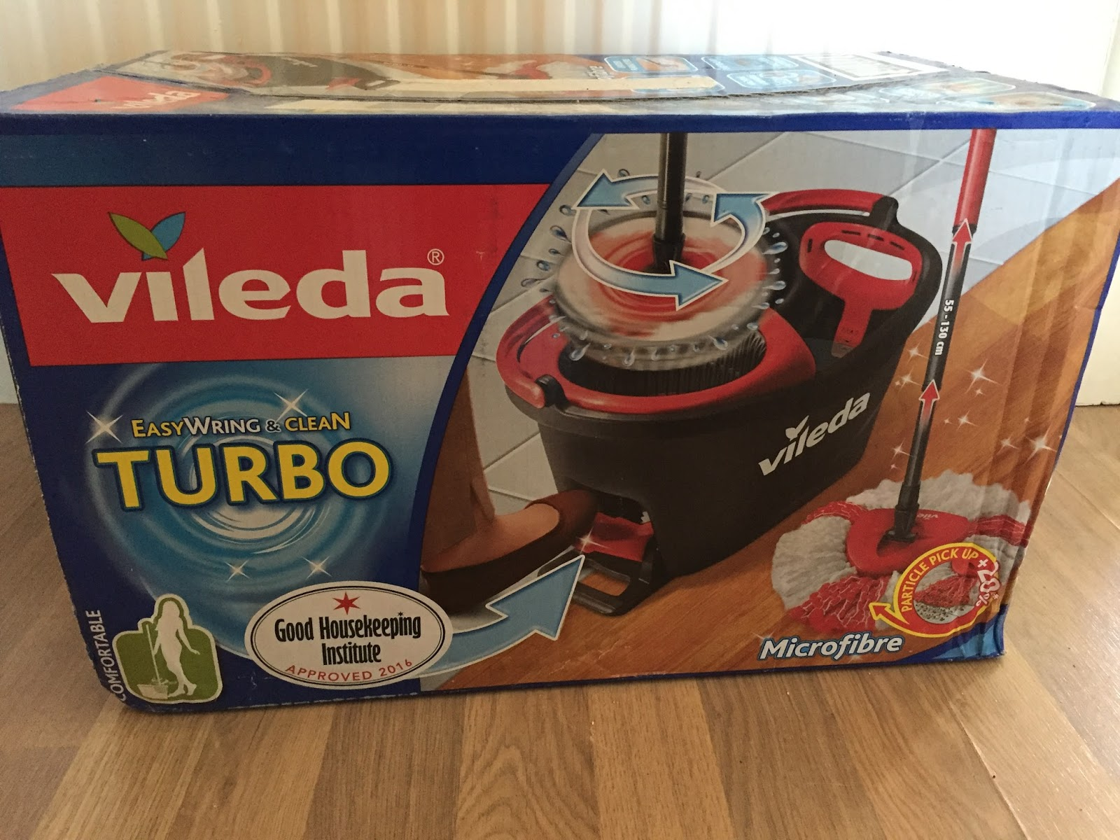 Vileda Easy Wring Clean Turbo Mop And Bucket Review Steph S Two