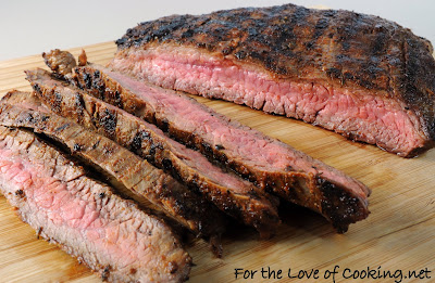 Blackened Flank Steak