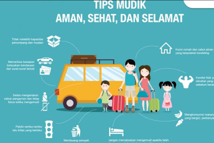 Tips Mudik 2018 Lebaran Nyaman Dan Aman