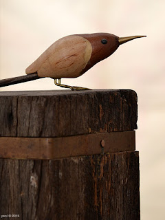 little wooden bird