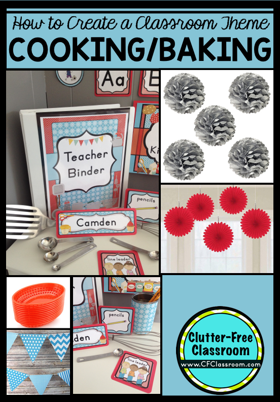 Classroom Cooking Ideas ~ Cooking themed classroom ideas printable