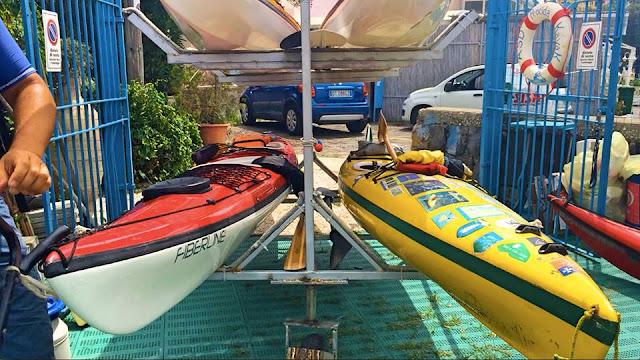 ASD Kayak Procida, Kayak