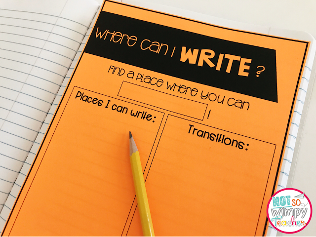 essons to help you implement writing workshop at the beginning of the year. Free lesson plans and anchor charts!