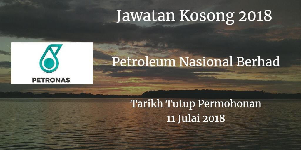 Jawatan Kosong PETRONAS 11 Julai 2018