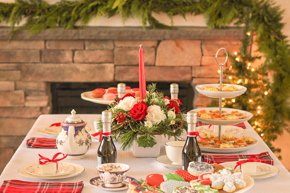How To Host An Easy And Beautiful Christmas Tea