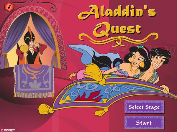 Play Aladdin's Quest game
