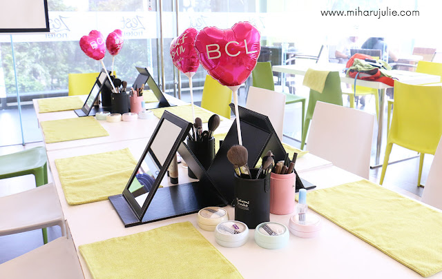 event beauty class kay collection dengan miharu julie