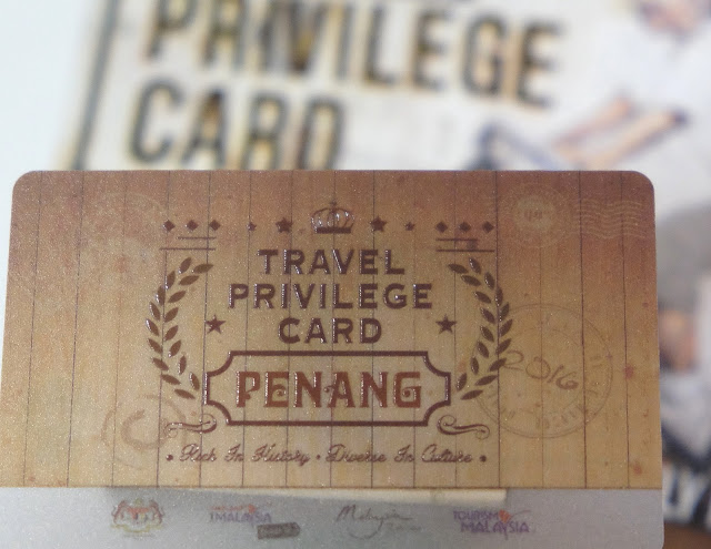 Penang Travel Privilege Card 2016. Photograph: Zac Teo/Penang365.com