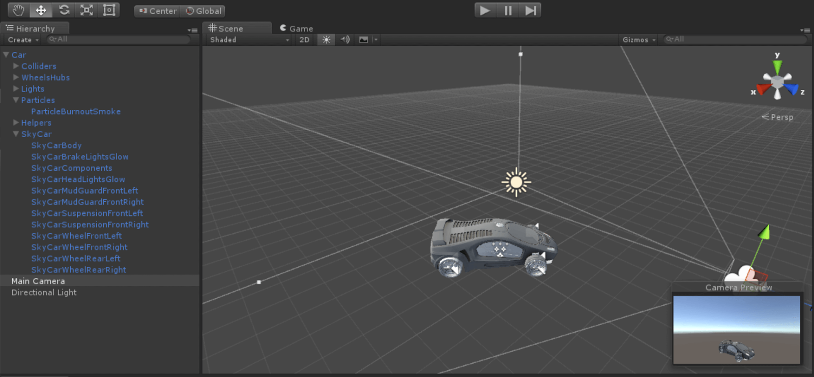 Plastic SCM blog: Holographic development with Unity