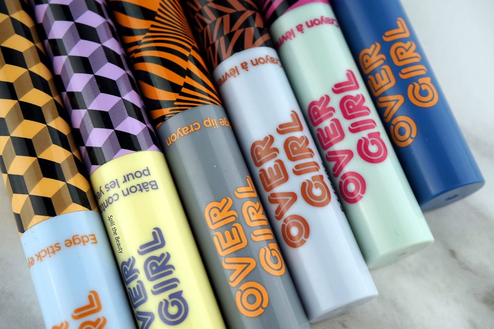 THEFACESHOP over girl egdge lip crayon stick eyes review swatches