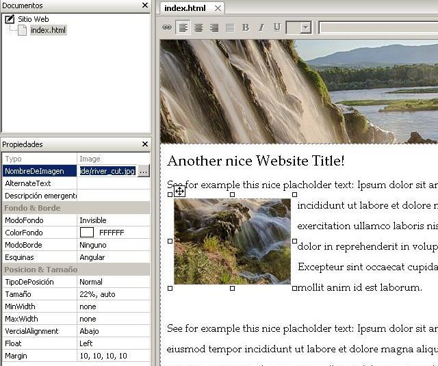Programa gratis para crear sitios Web