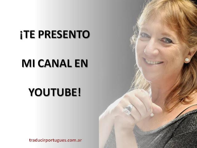 traducciones, traductora, portugués, Sonia Rodríguez Mella, Youtube