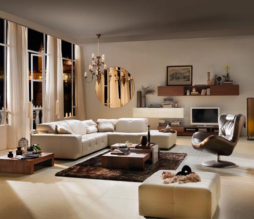 Fotos de salas elegantes ideas para decorar dise ar y for Como disenar mi sala