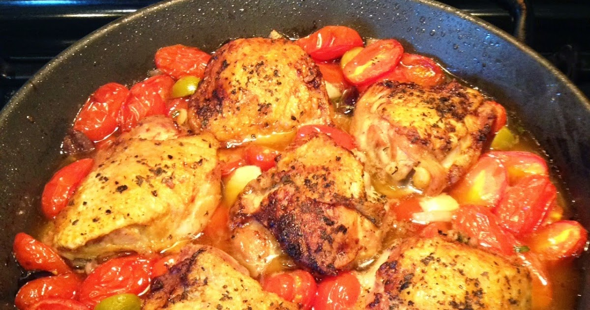 Make Your Someday Today Pan Seared Chicken Roasted With