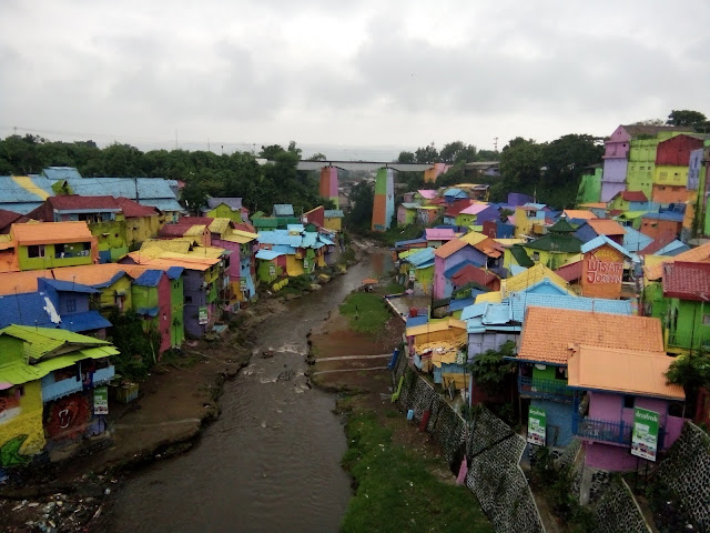 Kampung Warna Warni/Jodipan - Malang enrymazni.com