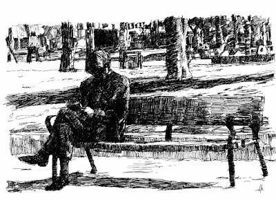 Resultado de imagen para viejo en la plaza