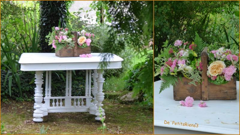 Despetitsriens3 le temps des roses for La table du jardin