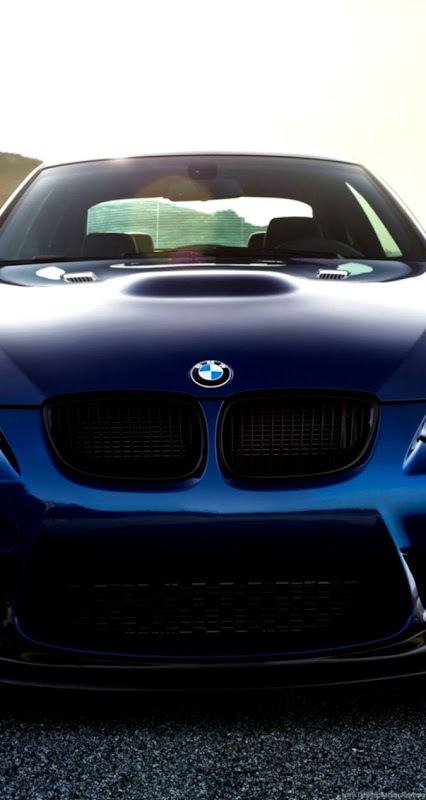 Download Wallpapers 750x1334 Bmw M3 E92 Laguna Blue iPhone 6 HD