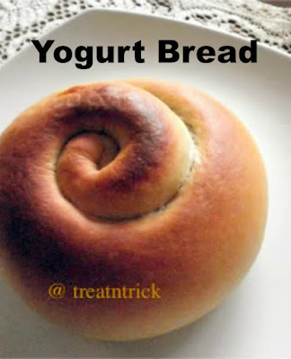 Yogurt Bread Recipe @ treatntrick.blogspot.com