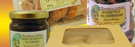 magasin d'usine de la biscoteria laetizia en Corse