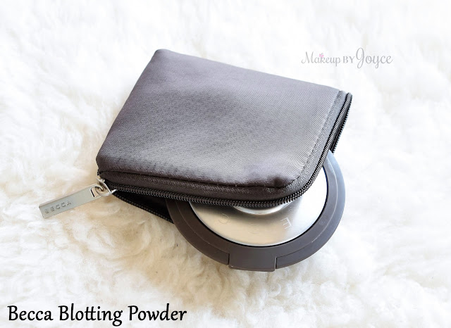 Becca Blotting Powder Perfector in Translucent Compact Case Zipper Review