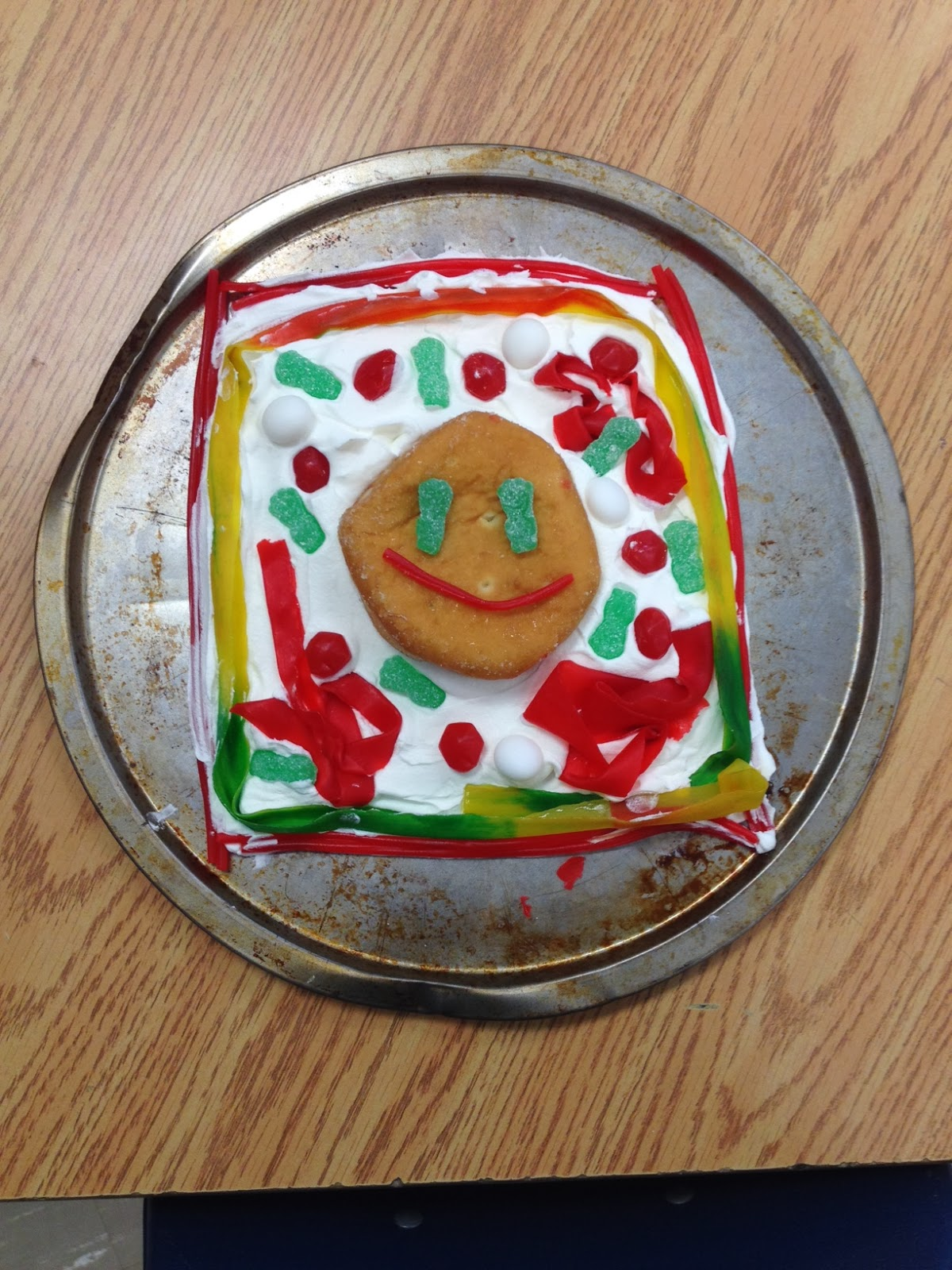 Miss L's Whole Brain Teaching: Edible Cell Models