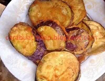 Foto Resep Terong Goreng Tepung Renyah Crispy Sederhana Spesial Asli Enak