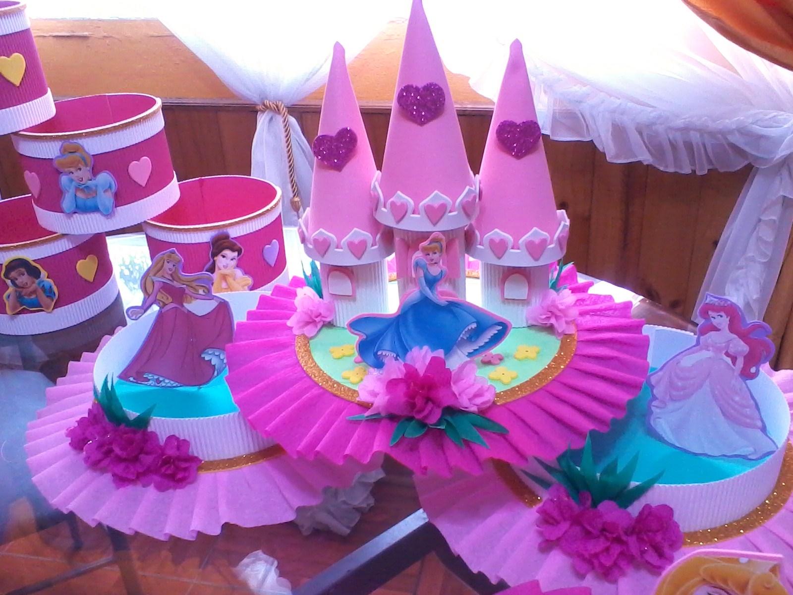 Decoraciones infantiles septiembre 2011 for Decoracion de princesas