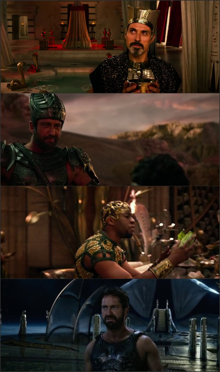 Screen Shot Of Gods of Egypt 2016 300MB Full Movie Hindi Dubbed Free Download 480P BRRip Small Size PC Movie