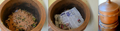 composting using terracotta pots