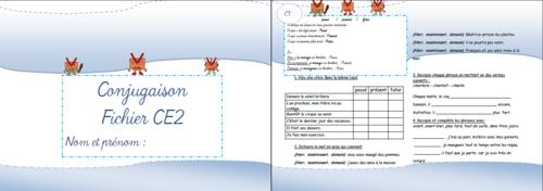*Fichiers exercices français CE2 + évaluations
