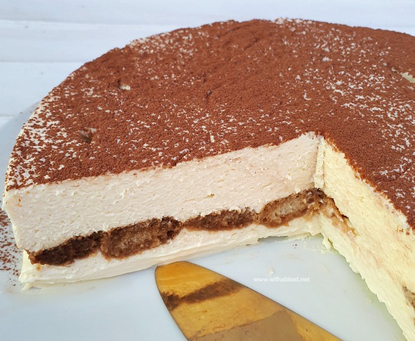 Most decadent ! The creamiest Tiramisu Cheesecake ever and requires the minimum prepping !