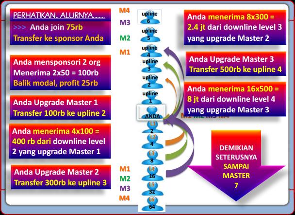 Mekanisme Bonus Upgrade Master 50 Club
