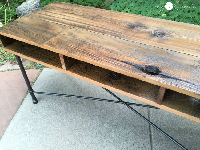Rustic Industrial Table, MyLove2Create