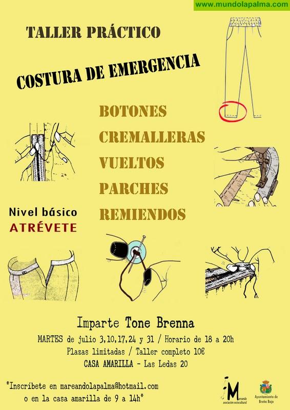 "CASA AMARILLA: Taller de ""Costura de emergencia"""