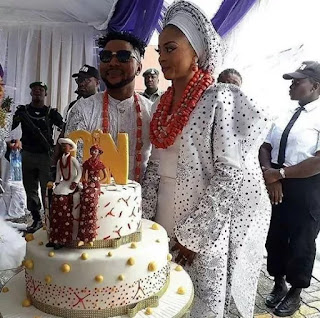 Oritsefemi and his wife