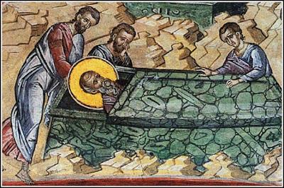 Η κοίμηση και η Μετάσταση του Αγίου Ιωάννη