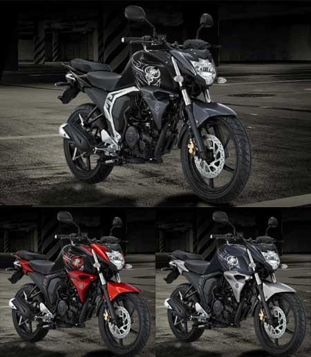 Pilihan warna Yamaha Byson Fi