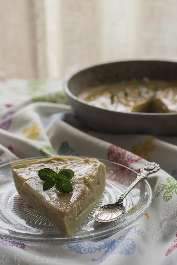 Clafoutis o flognarde de pera #sinazucar #singluten #sinlacteos #realfood