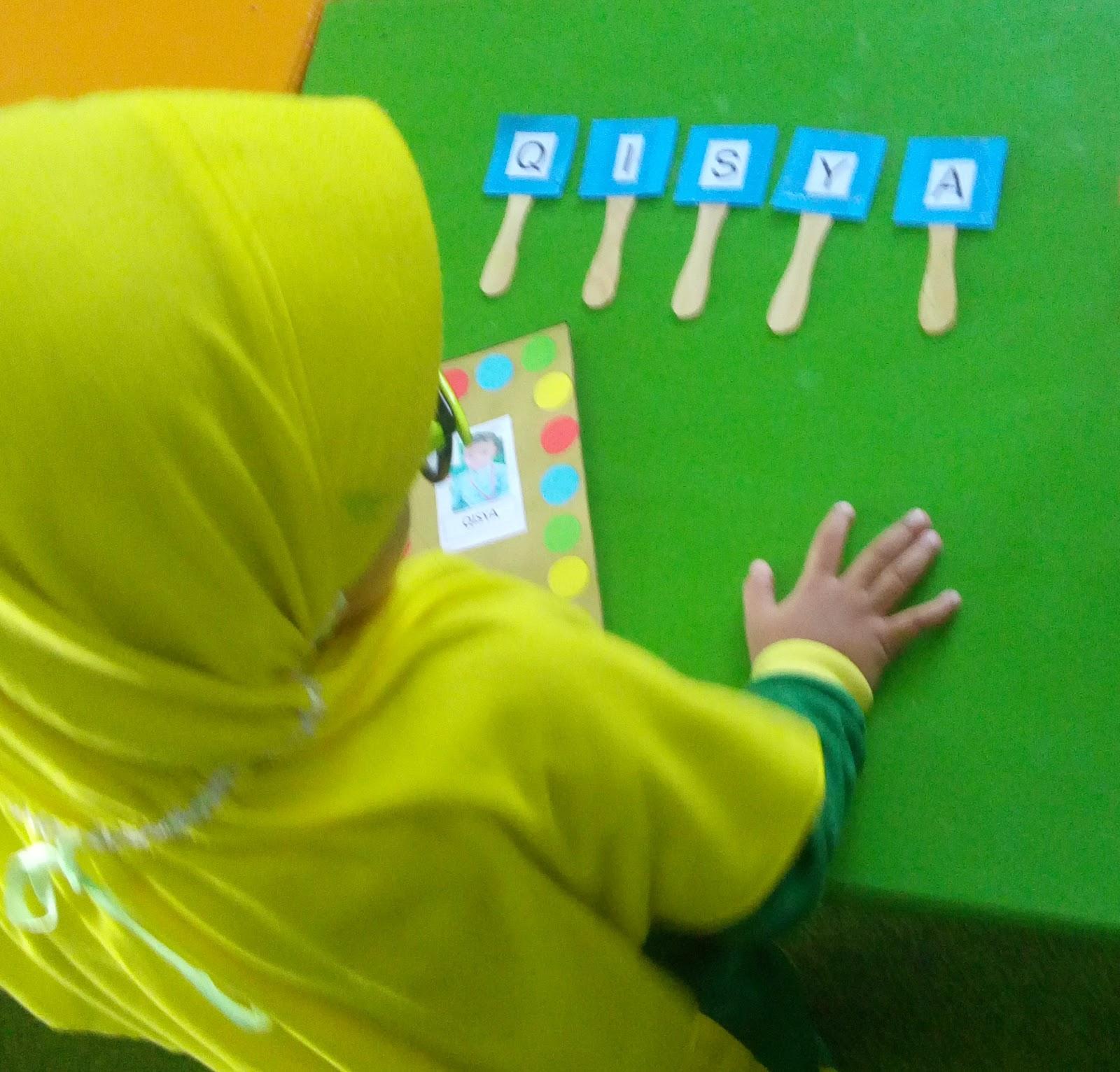 Hasil karya membuat bingkai foto anak usia 3 4 tahun