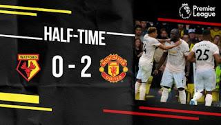 Manchester United Unggul 2-0 atas Watford