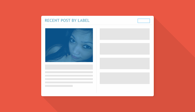 How to Install Recent Widgets Post by Label on Blog
