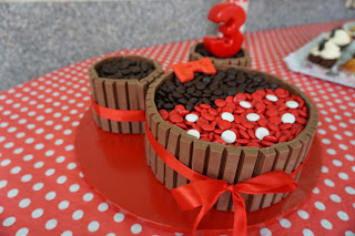 tarta decorada minnie facil