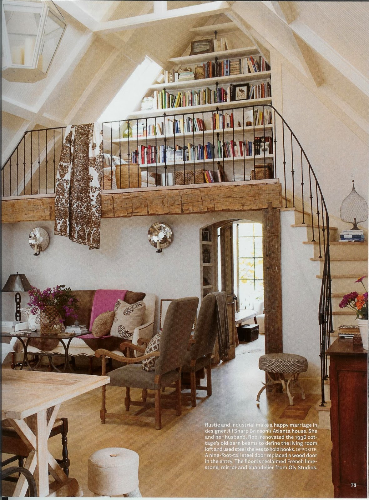 Elegant design for your loft library goodiy - Make your house a home ...