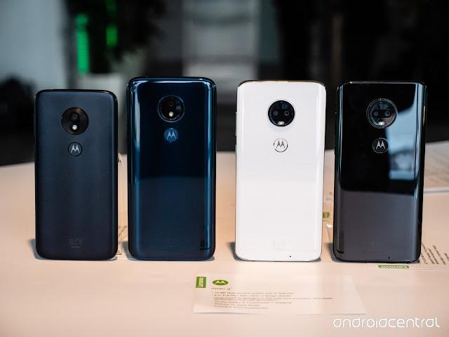 Moto G7 budget smartphone